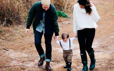 Cómo enseñar a andar a tu hijo